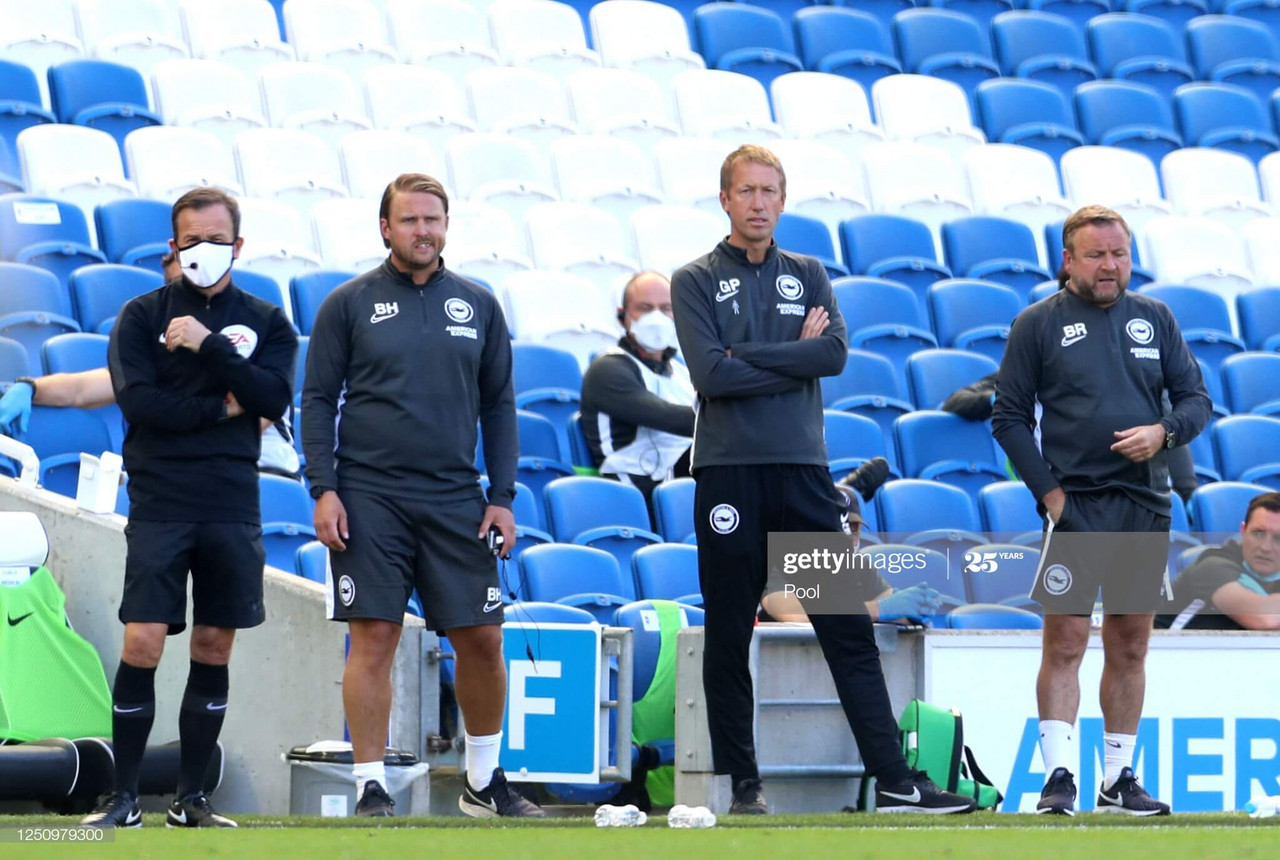 Graham Potter delighted after victory over Arsenal