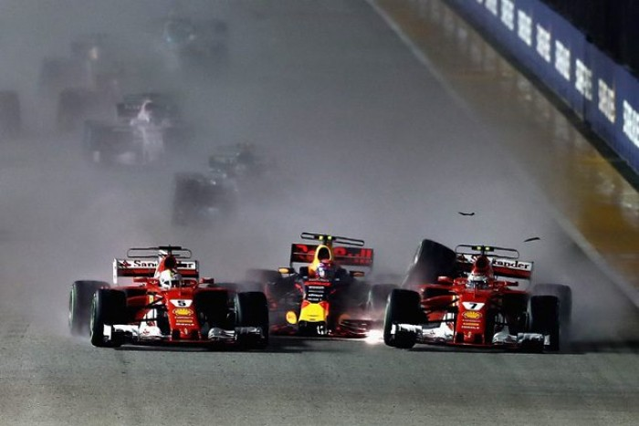 GP Singapore - Nessun provvedimento per Verstappen e Raikkonen