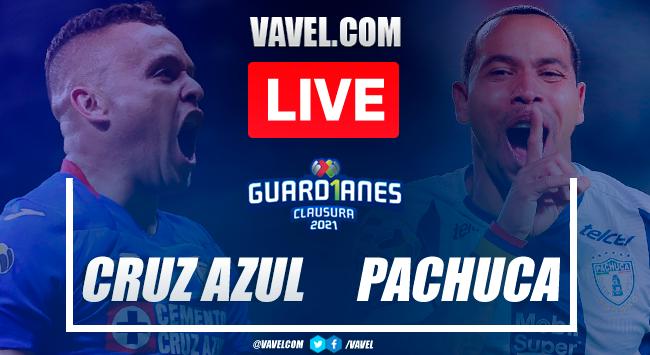 Goal and Highlights: Cruz Azul 1-0 Pachuca in Liga MX 2021