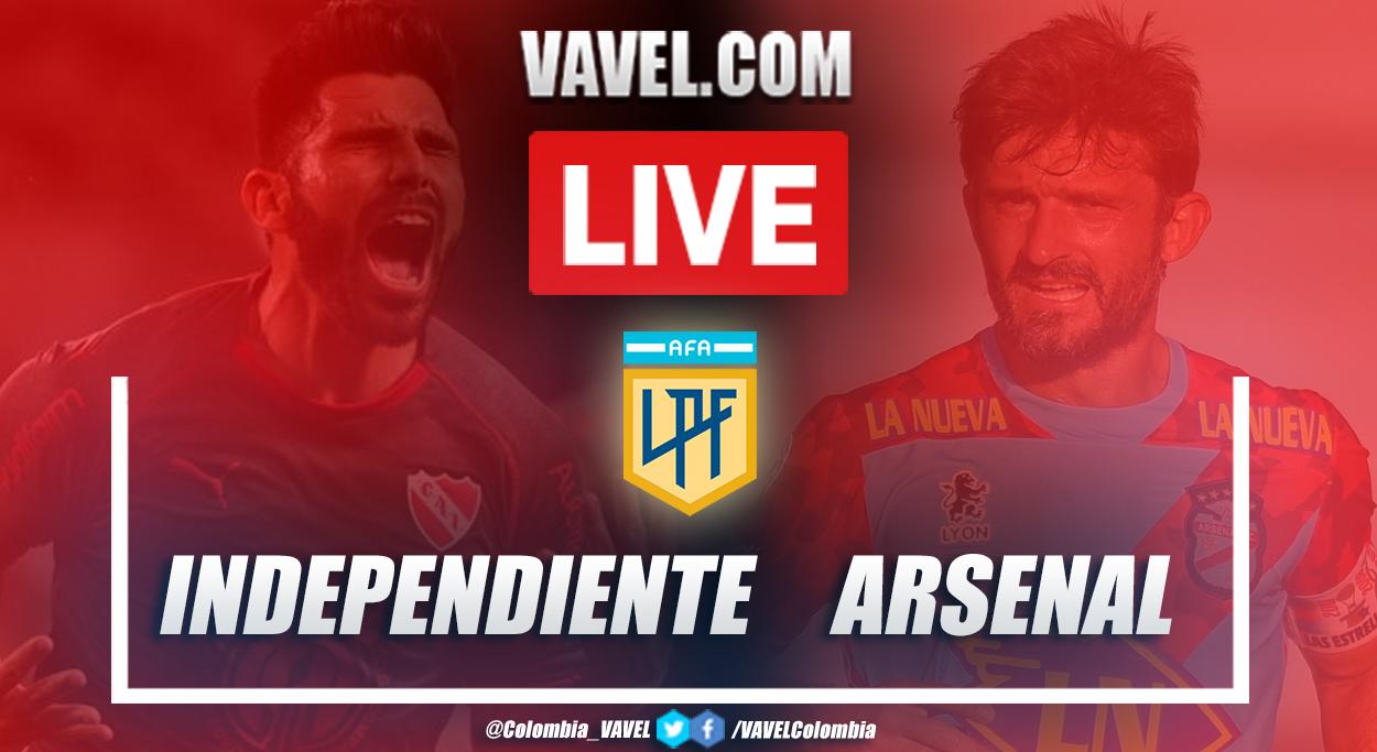 Resumen Independiente vs Arsenal (3-4) en Copa Diego Armando Maradona