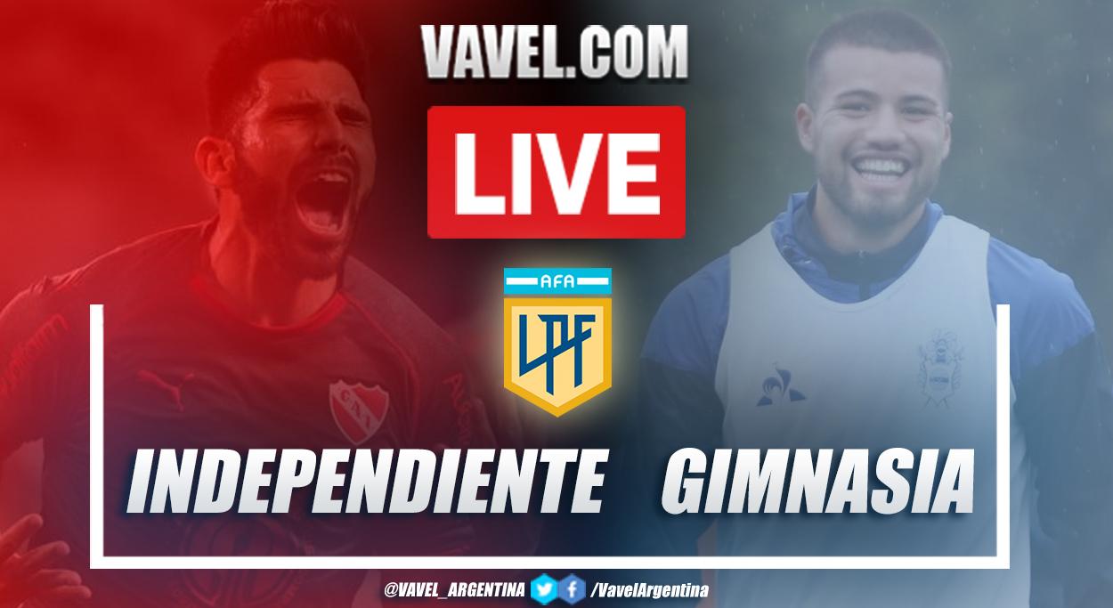 Resumen Independiente vs Gimnasia (1-0) por la fecha 3 de la Copa de la Liga Profesional