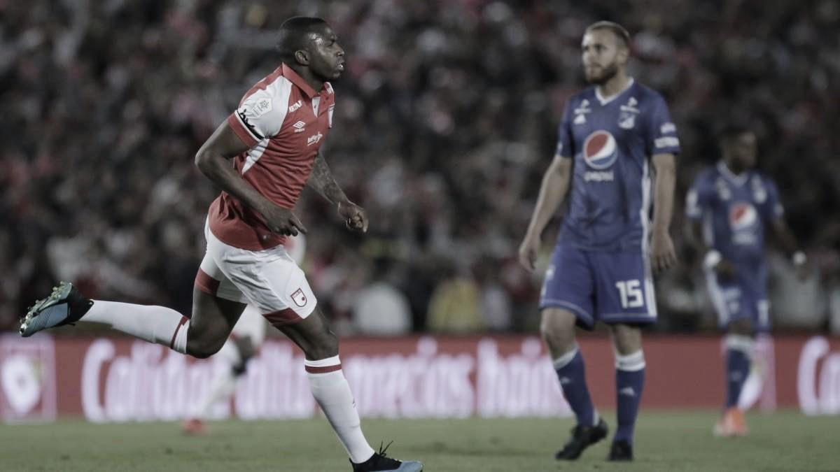 Independiente Santa Fe ganó el clásico capitalino por la mínima diferencia