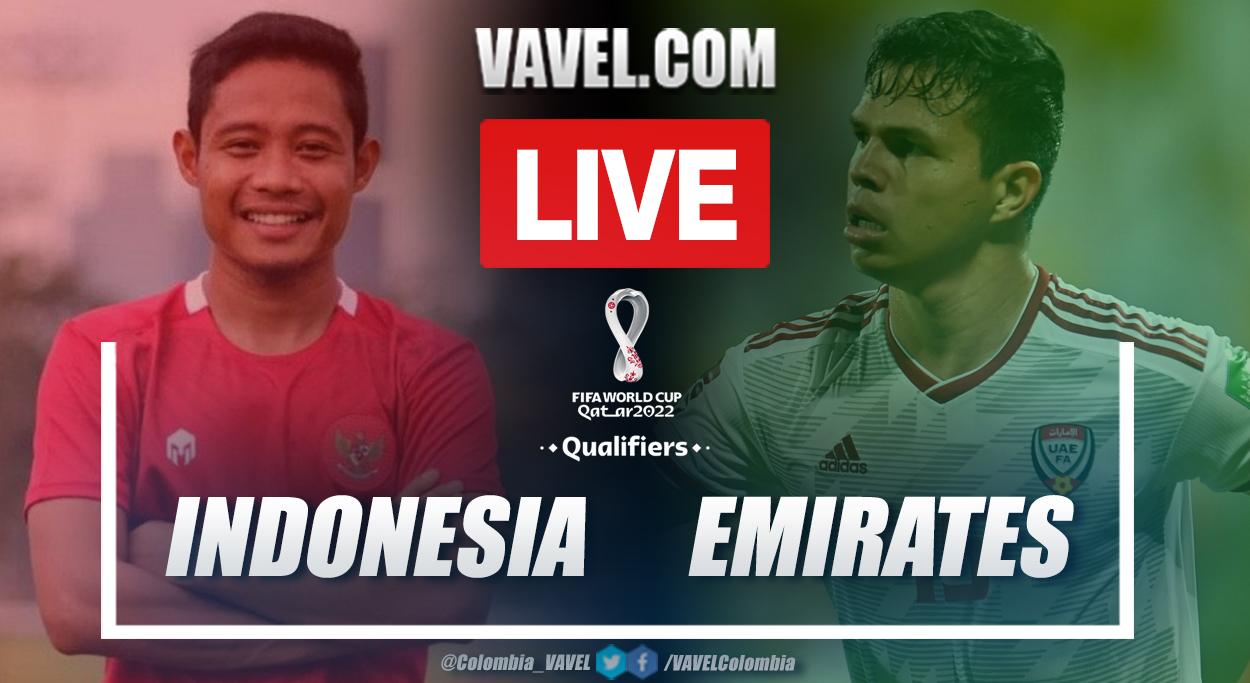 Indonesia vs United Arab Emirates (UAE):Live Stream, on World Cup Qualifiers Scores