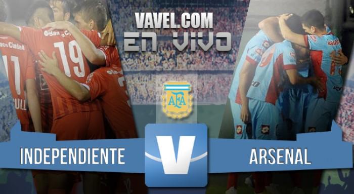 Resultado de Independiente y Arsenal de Sarandí por el Torneo de Trancisión 2016 (1-0)