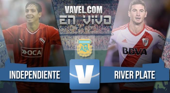 Independiente 1-0 River: respiro para el Rojo