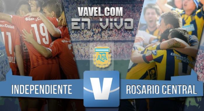 Resultado: Independiente 0-2 Rosario Central por el Torneo 2016