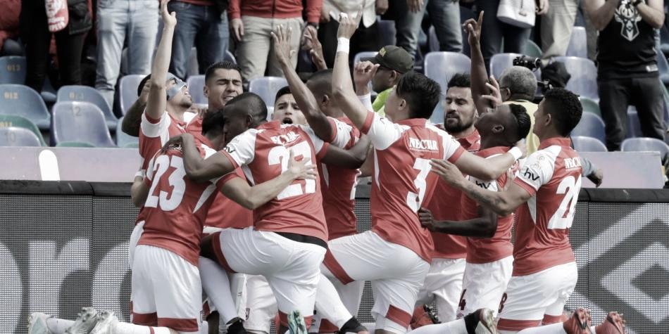 Independiente Santa Fe hizo respetar su localía venciendo a Alianza Petrolera