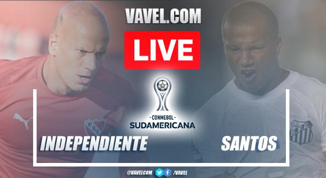 Gols e melhores momentos Independiente x Santos pela Copa Sul-Americana (1-1)