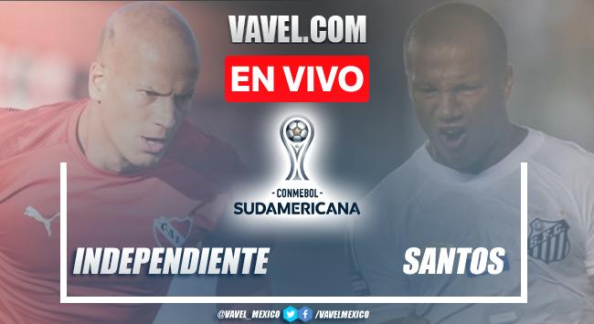 Goles y resumen del Independiente 1-1 Santosen Copa Sudamericana