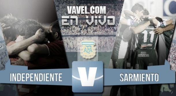 Resultado Independiente - Sarmiento de Junin 2015 (1-1)