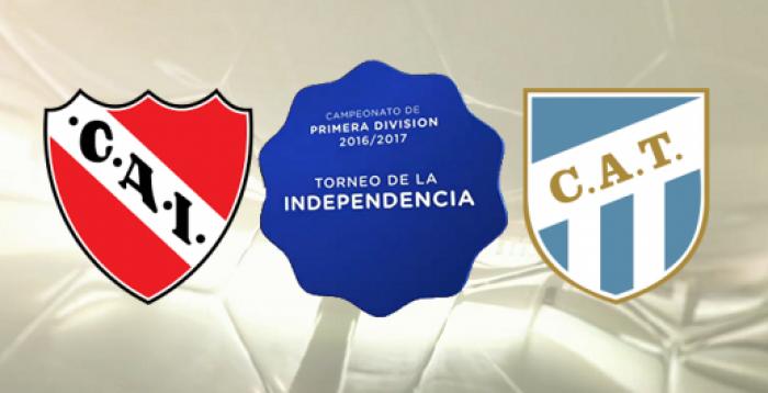 Independiente 0 - Atlético Tucumán 2: Duro golpe para el Rojo.