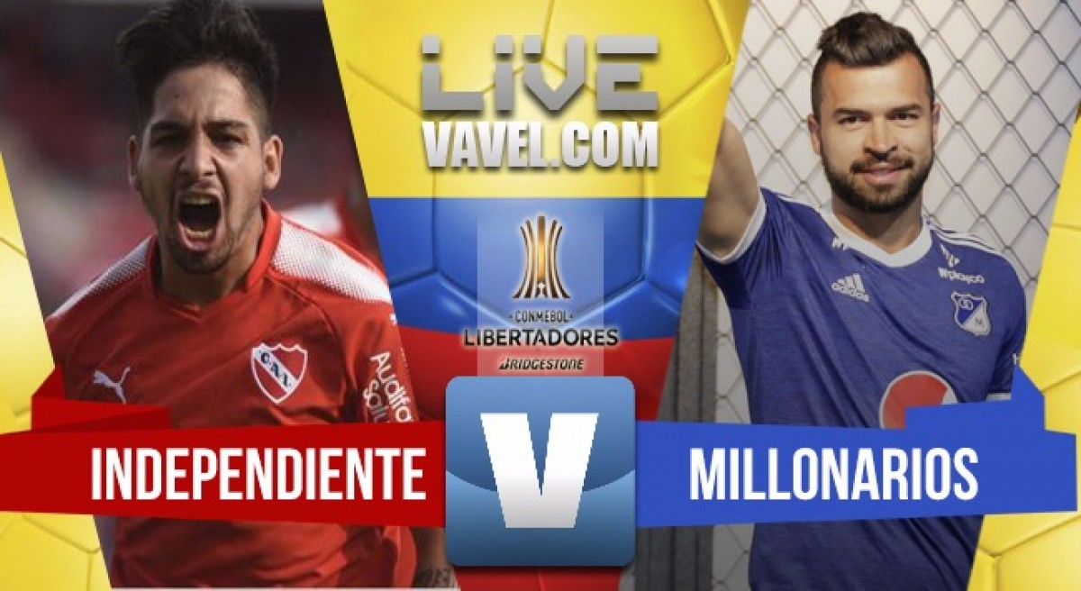 Millonarios cae en Avellaneda y es último en su grupo (1-0)