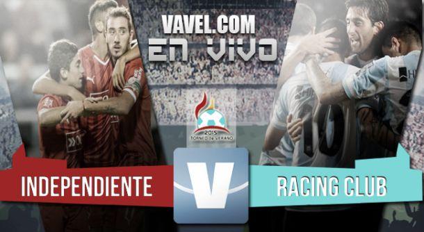 Resultado Independiente - Racing Club por el Torneo de Verano 2015 (0-2)