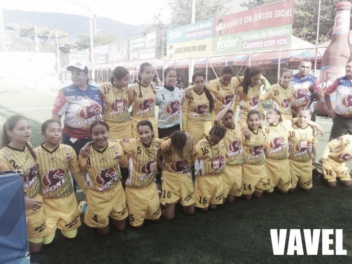 Por la vía de los penales Inder Medellín está en la final del Ponyfútbol femenino 2018