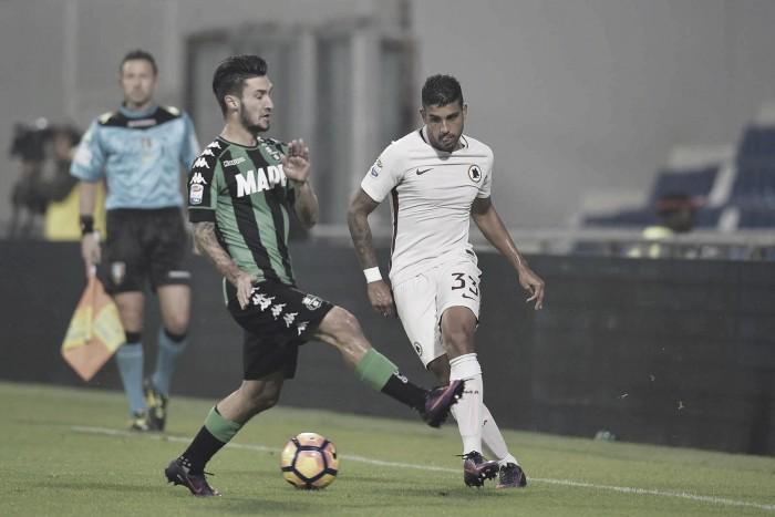 La Roma rimonta il Sassuolo e vince 1-3