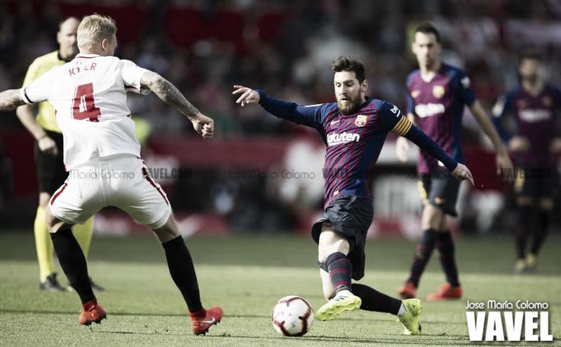 Con Messi no hay manera