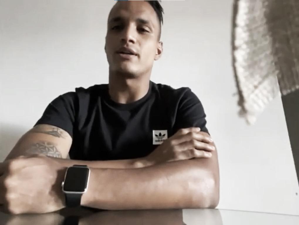 """Brayan Rovira: """"Deseo cumplir un gran ciclo en Atlético Nacional y alzar un título"""""""