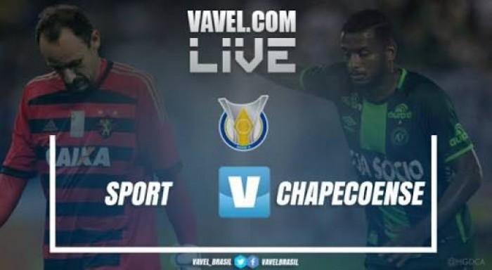 Resultado Chapecoense x Sport no Campeonato Brasileiro 2017 (1-1)