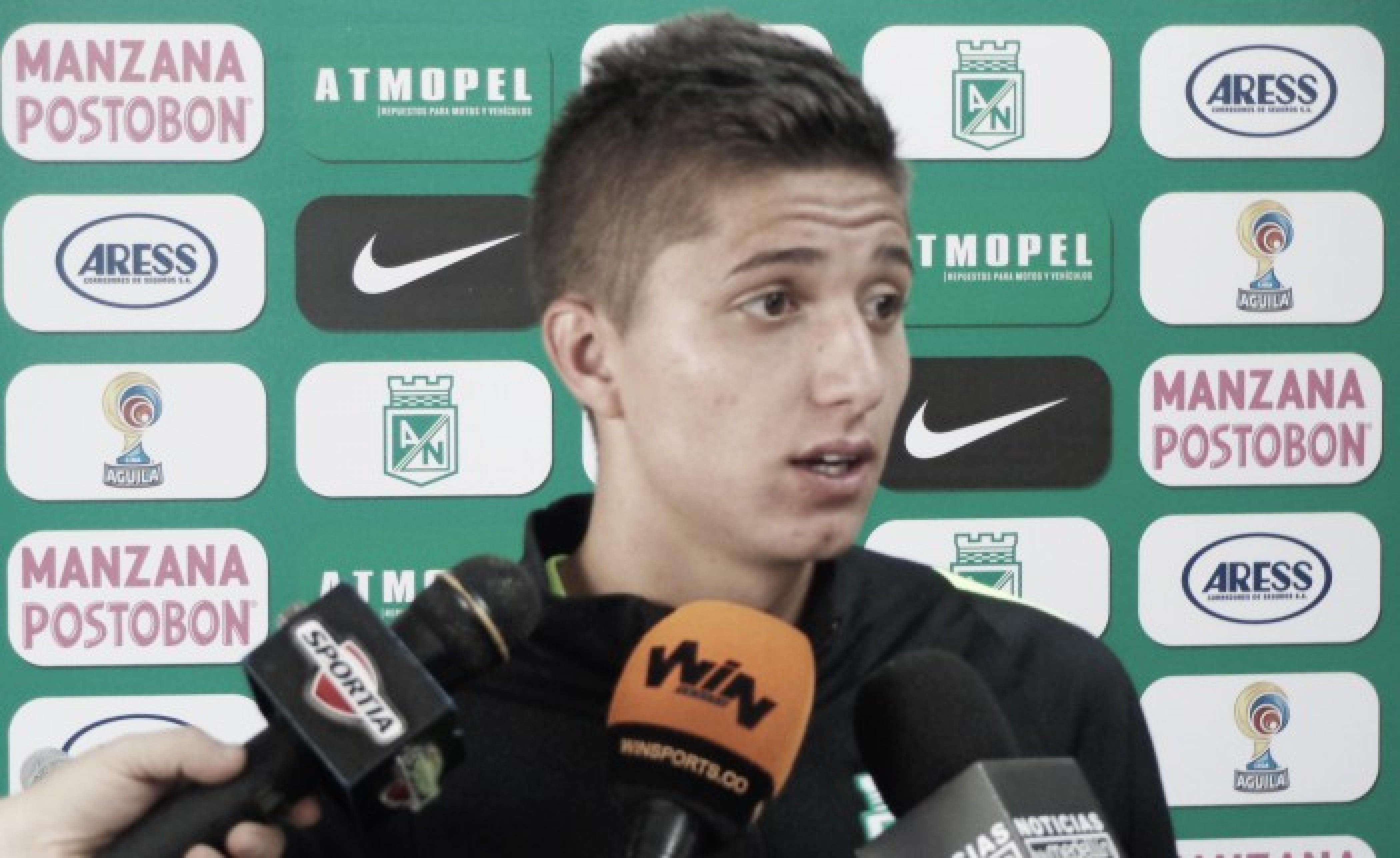 """""""La victoria nos fortalece para jugar los próximos partidos"""":Juan Pablo Ramírez"""
