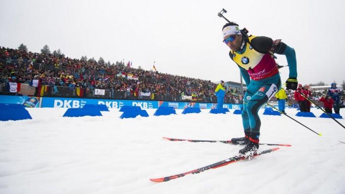 Biathlon : Martin Fourcade remporte l'individuel de Ruhpolding