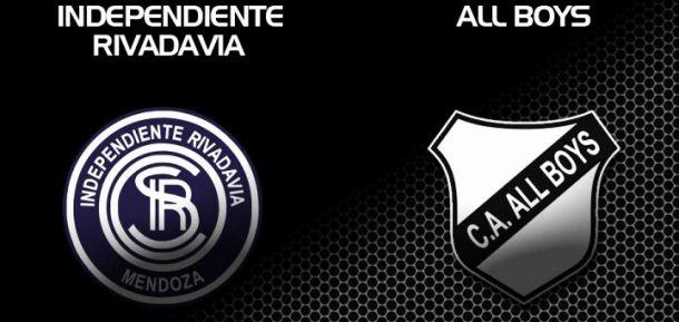 Independiente Rivadavia - All Boys: realidades totalmente opuestas