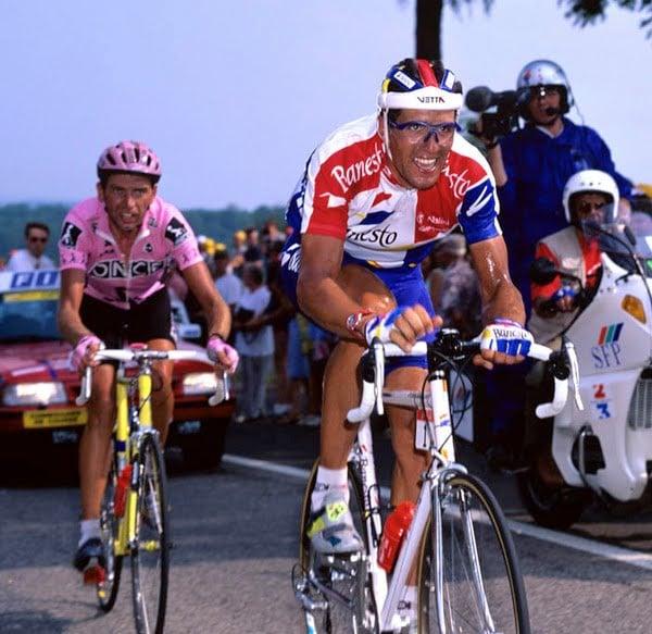 Tour 95, Indurain sorprende al pelotón en Lieja