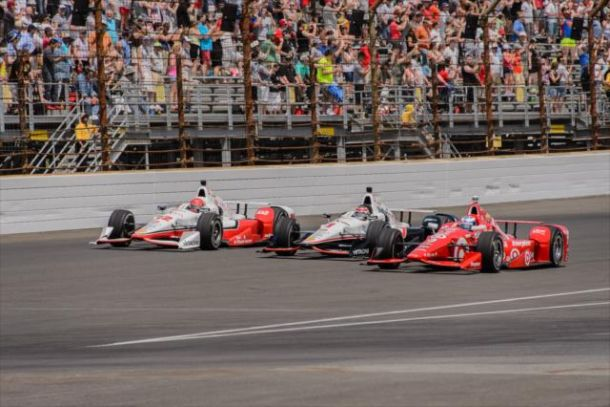 IndyCar: Montoya Wins An Incredible Indy 500