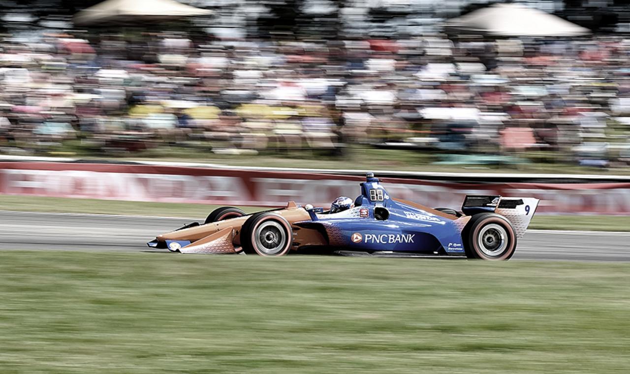 IndyCar: Dixon gana en un final de infarto en Mid-Ohio