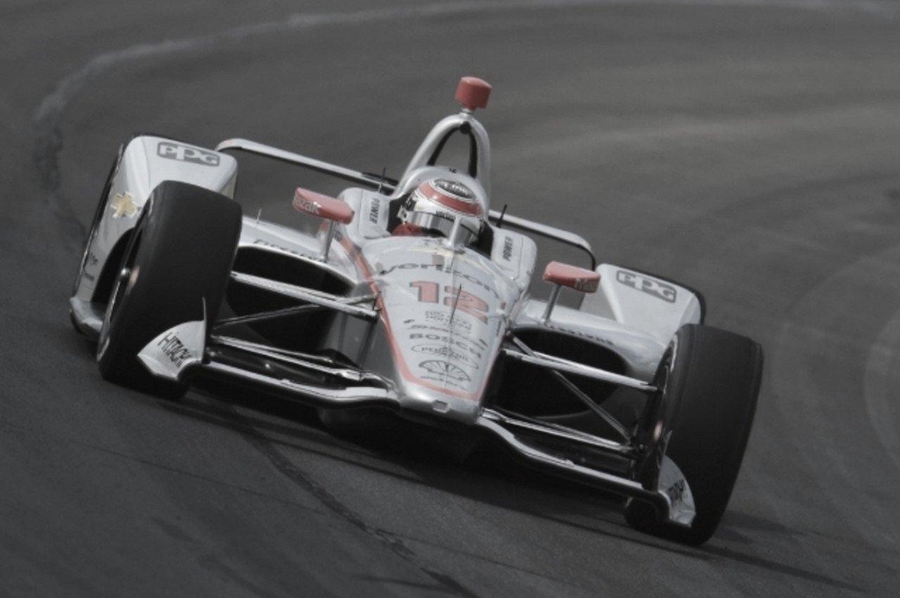 IndyCar: la lluvia favoreció a Power