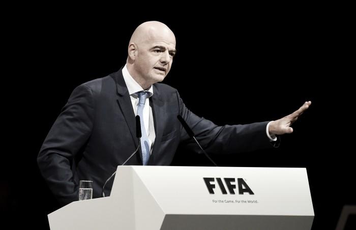 Presidente da Fifa quer Copa do Mundo com 40 seleções