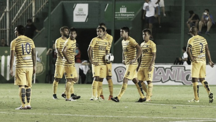 """Temperley 0- Boca 0: Puntuaciones del """"Xeneize"""""""