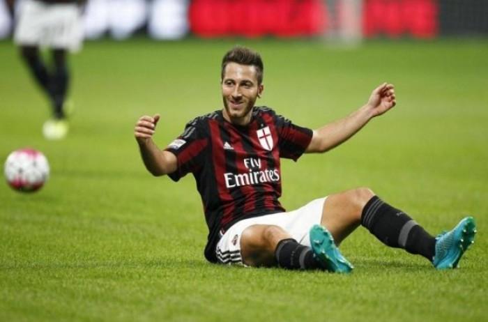 Milan, lesione muscolare alla coscia sinistra per Bertolacci