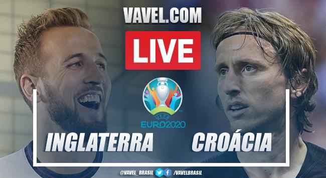 Gols e melhores momentos Inglaterra x Croácia pela Euro 2020 (1-0)