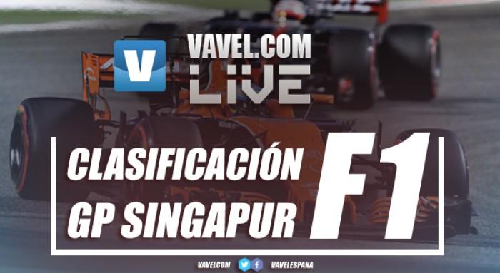 Resultados de la clasificación del GP de Singapur 2017