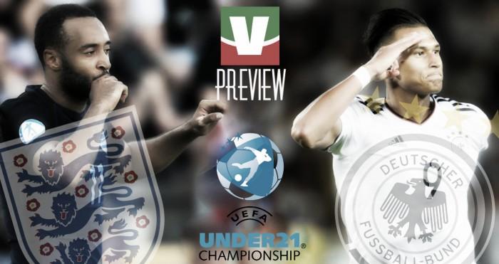 Euro Under 21 - Inghilterra e Germania, chi va in finale?
