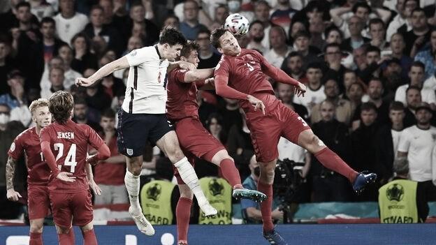 Inglaterra - Dinamarca, puntuaciones de Dinamarca en la semifinal de la EURO2020