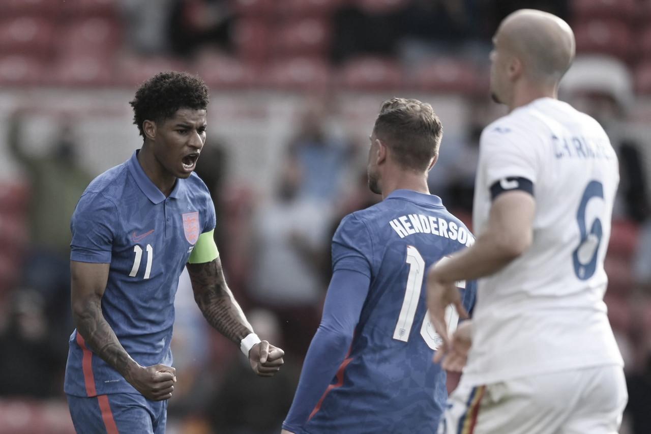 Inglaterra cierra con victoria su camino hacia la Eurocopa