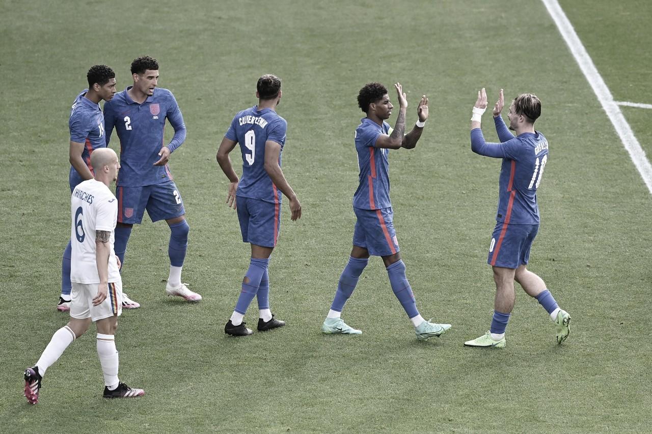 Gol e Melhores momentos de Inglaterra 1 x 0 Romênia
