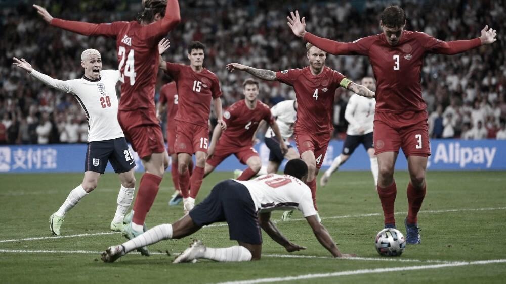 El post partido de Inglaterra - Dinamarca: el sueño roto por un penal