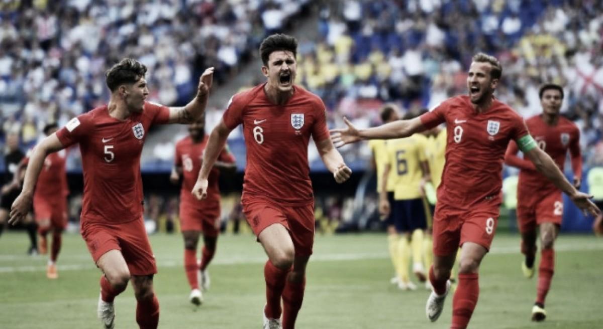 Inglaterra venció a Suecia y se instaló en semifinales