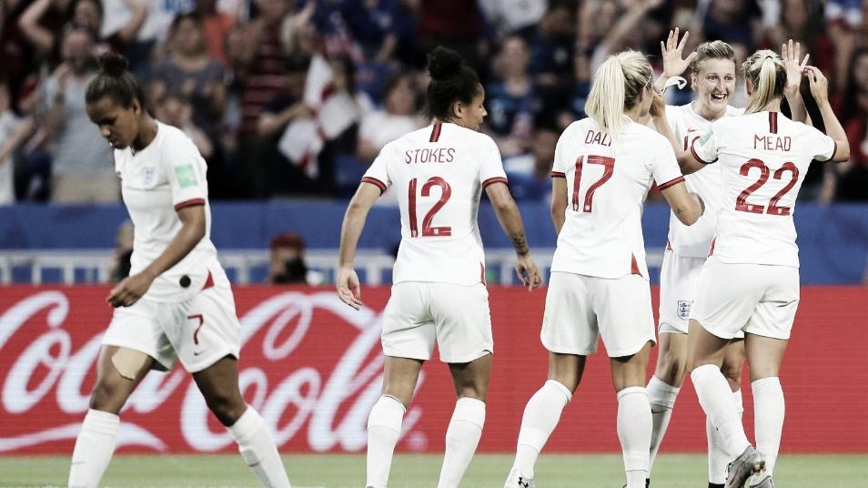 Resultado IngIaterra 1 x 2 Suécia na Copa do Mundo Feminina 2019