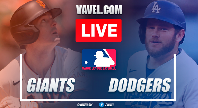 Highlights and runs: San Francisco Giants 1-3 Los Angeles Dodgers in 2021 MLB