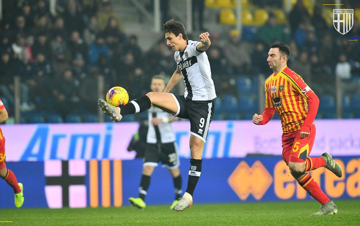 Serie A- Iacoponi e Cornelius affondano il Lecce al Tardini, il Parma esce nella ripresa e aggancia il settimo posto (2-0)