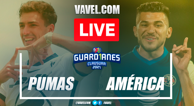 Goal and highlights: Pumas UNAM 0-1 America in 2021 Guard1anes Liga MX