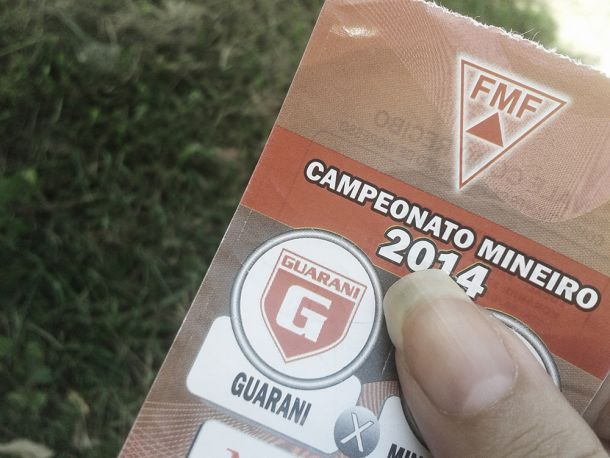 Guarani-MG divulga valor dos ingressos para jogo contra URT