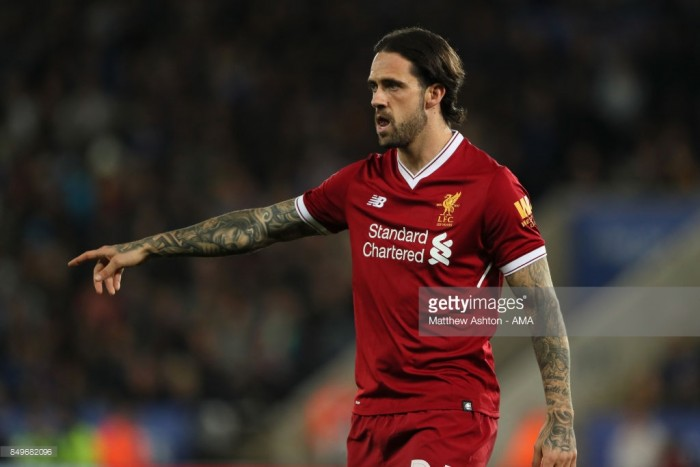 Danny Ings in action for Liverpool