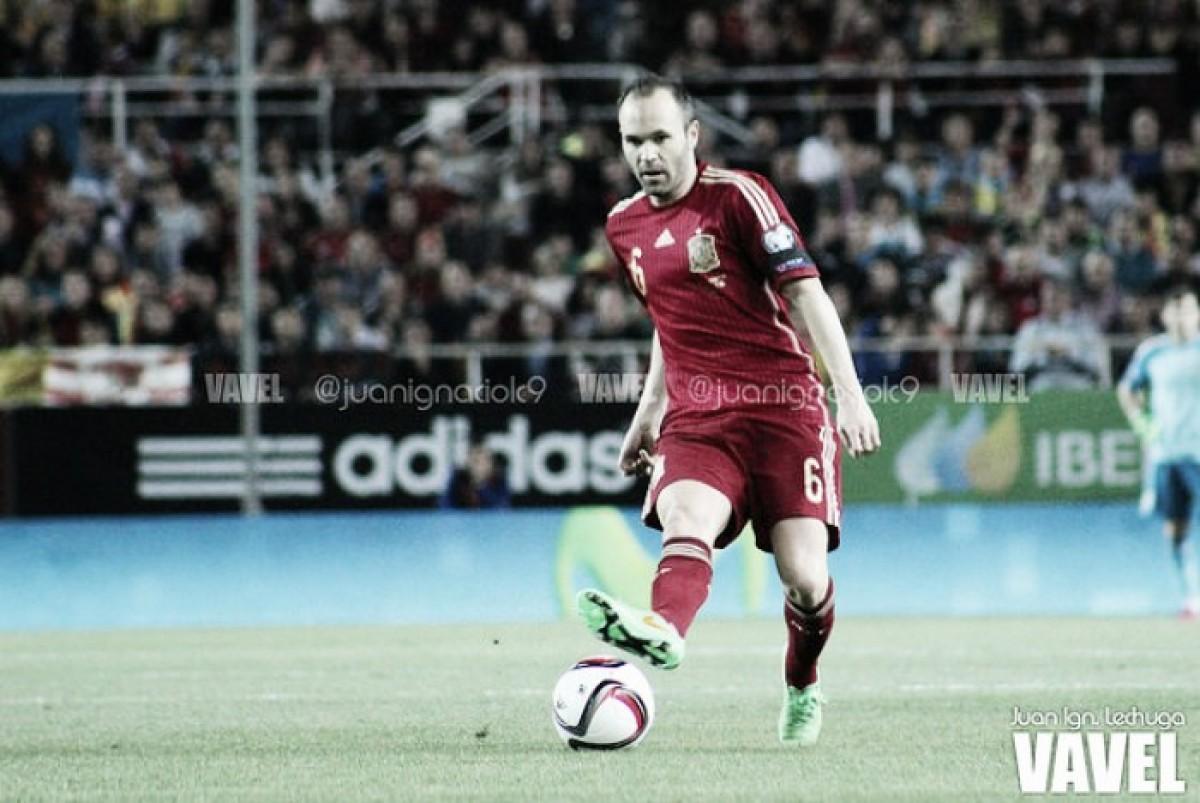 España contra Portugal: Iniesta contra Cristiano