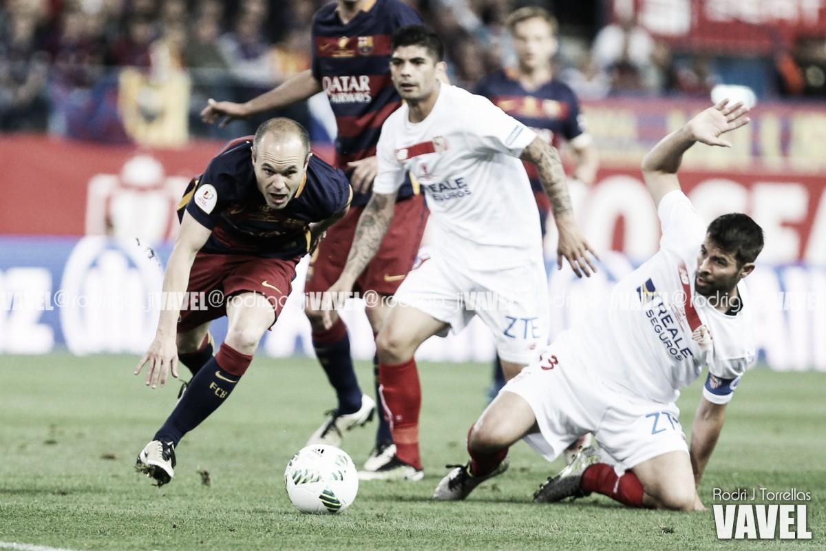 Dominio azulgrana en las últimas finales entre FC Barcelona y Sevilla FC