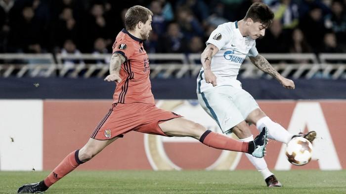 Real Sociedad - Zenit: puntuaciones de la Real Sociedad, jornada 6 de la fase de grupos de la Europa League