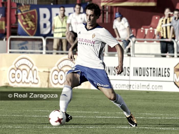 """Íñigo Eguaras: """"El equipo ha hecho un buen partido y ha estado a buen nivel"""""""